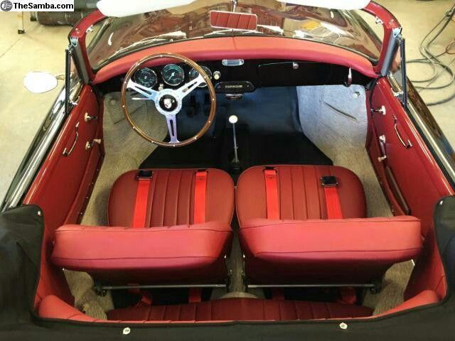 1959 Porsche 356 Speedster Interior