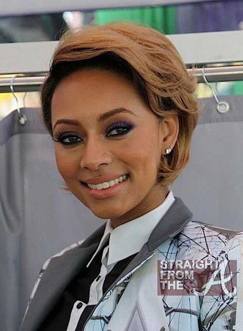 27-Short-Hairstyle-for-Black-Women Cortes de pelo cortos, Mujeres