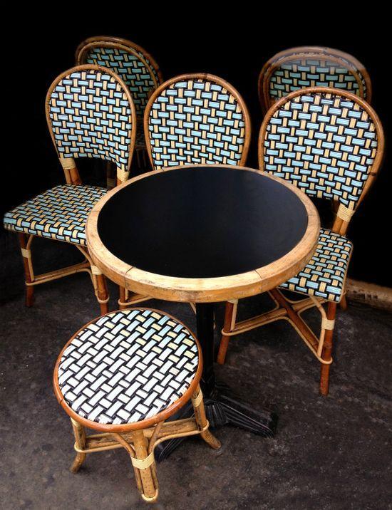 Cafe Chairs- FleaingFrance