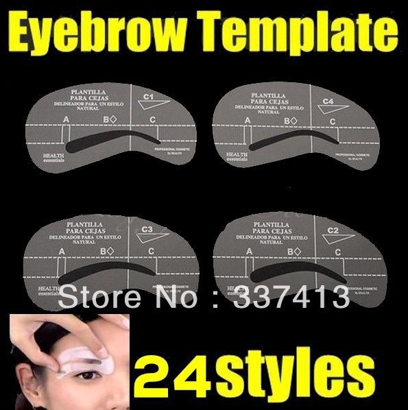 AliexpressCom  Buy Free Shipping New Eyebrow Stencil Tool Makeup
