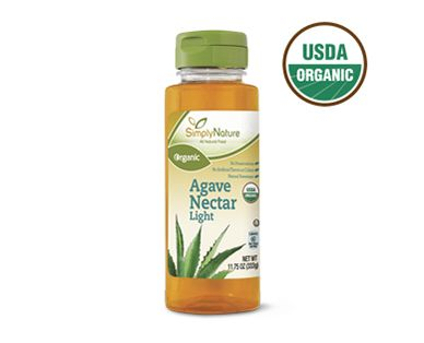SimplyNature Organic Light Agave Nectar
