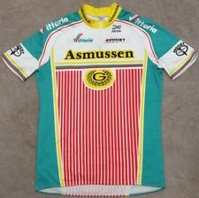 Beautiful. On Ebay right now: ASMUSSEN - AVOCET - DECCA - vintage cycling JERSEY - size 5 (XL)