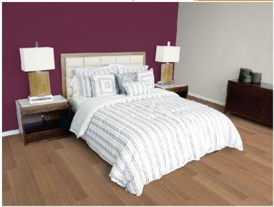 décoration chambre adulte gris et prune | Couleur chambre à coucher ...