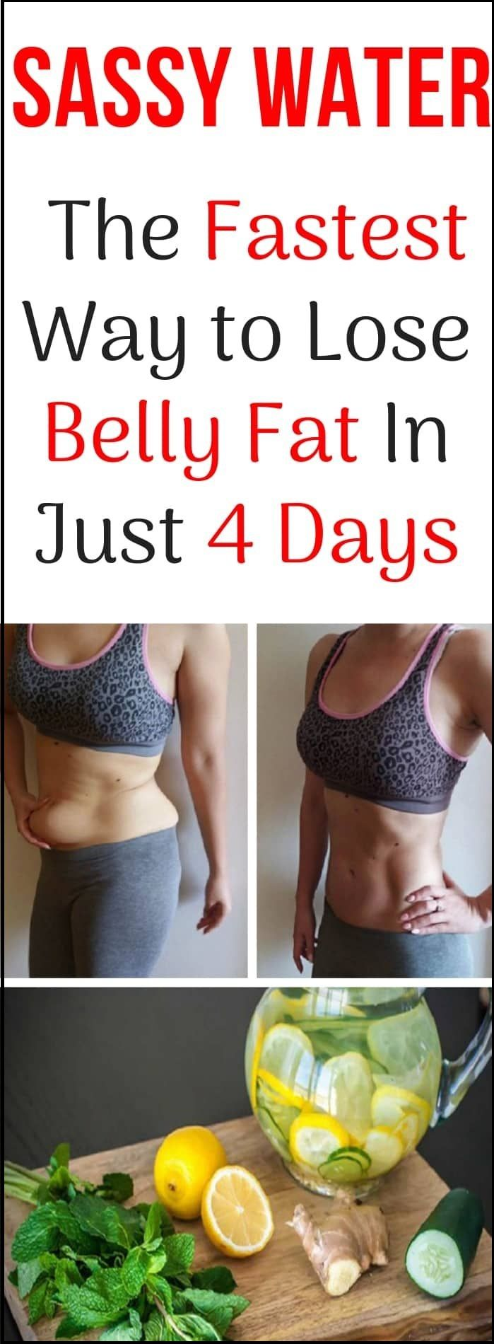 Sassy Water The Fastest Way To Lose Belly Fat In Just 4 Days Home