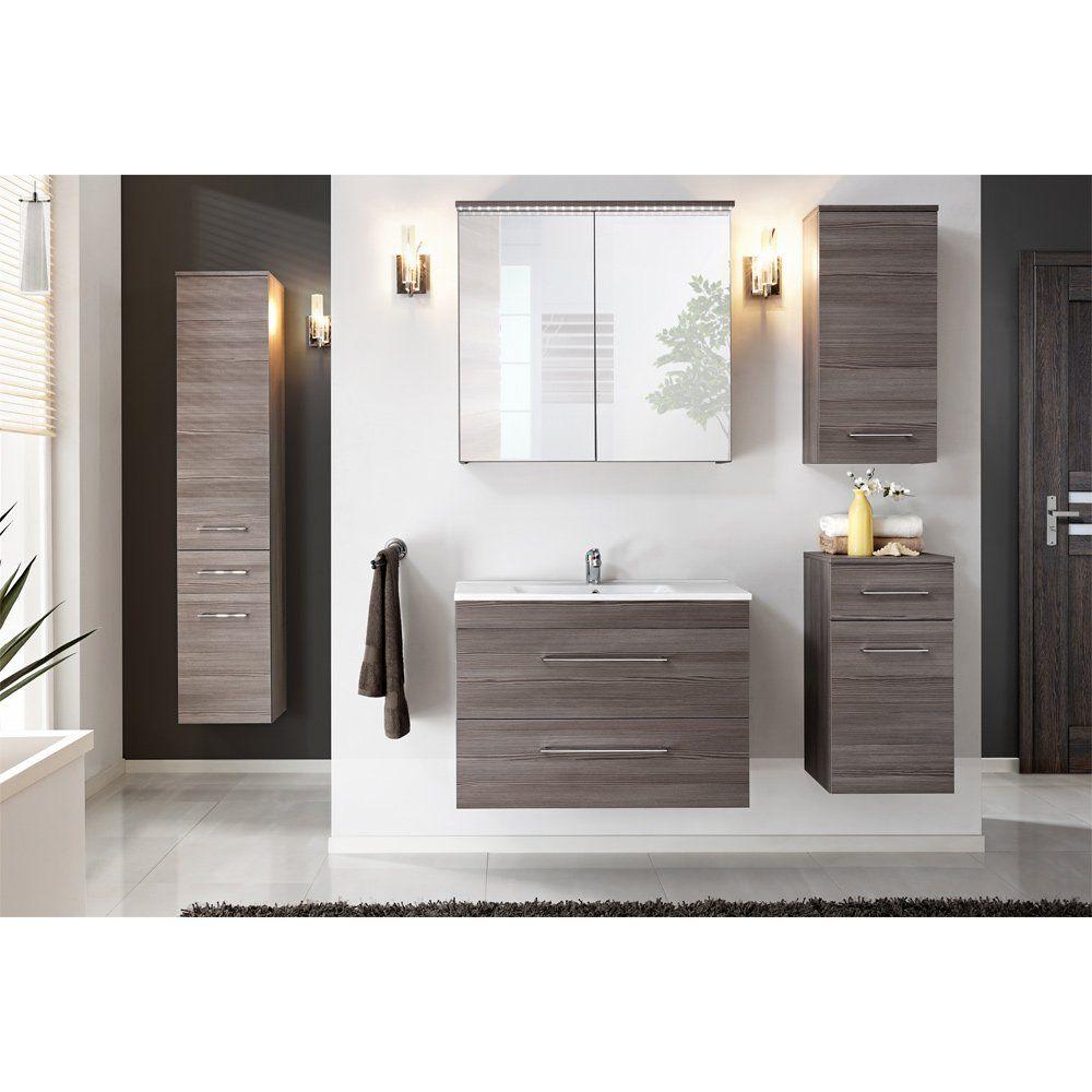 Badmobel Set Reduziert Holz Badmobel Badmobel Komplettset Sunny Badmobel Holz Badmo Trendy Bathroom Tiles Bathroom Furniture Storage Bathroom Furniture