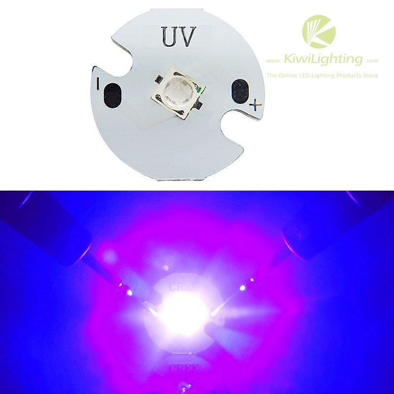 3w Uv Purple 420nm Led Emitter Light 3v 3 6v 600 650ma On 16mm Pcb Board Power 3wemitter Color Uv 420nmvoltage 3v 3 6 With Images Led Luminous Intensity Led Lights