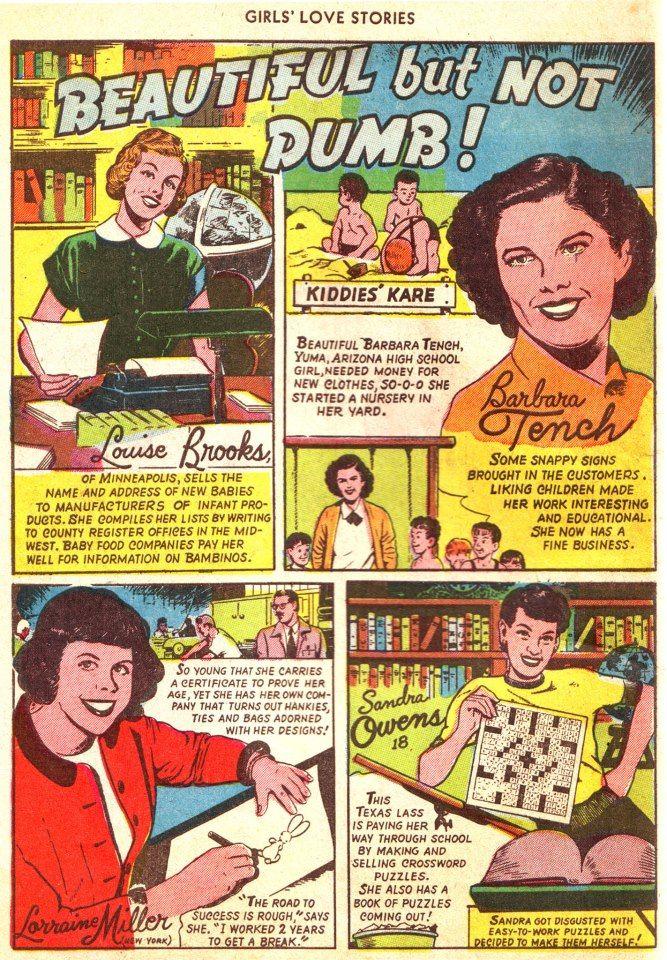 Lady success stories.