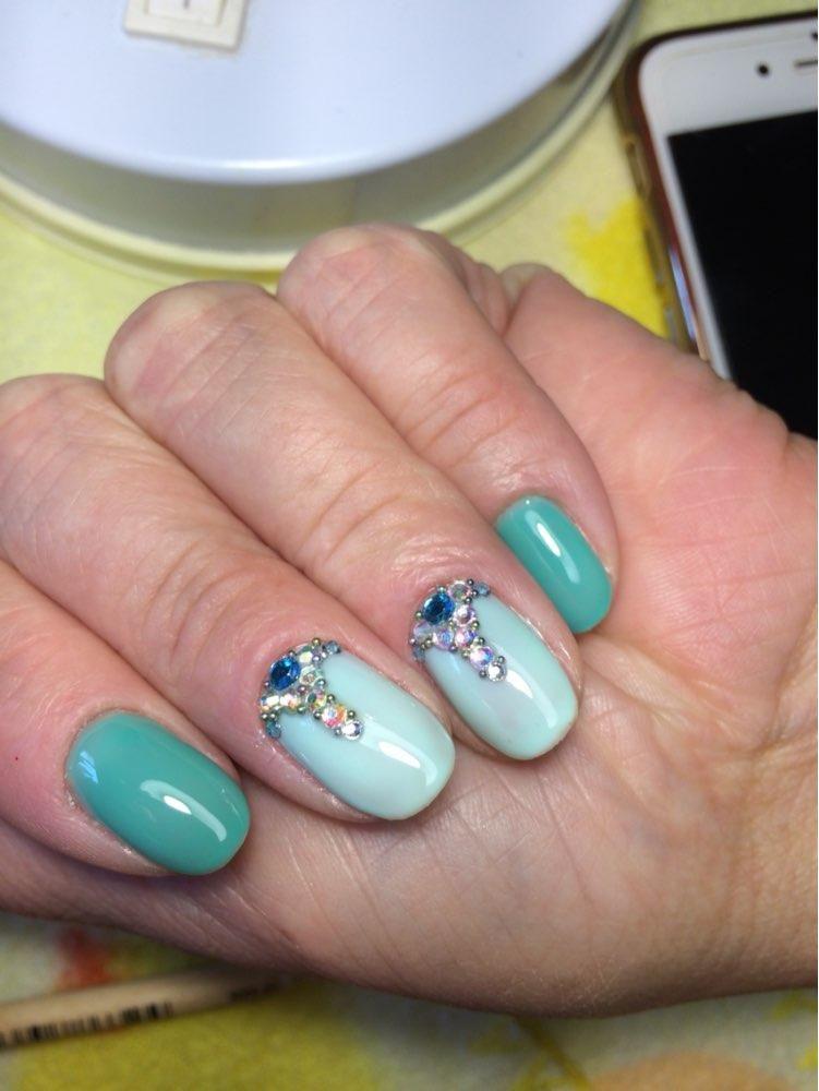 10000Pcs 0.8mm Mini Nail Art Beads Gradient Rhinestones 3D Tip ...