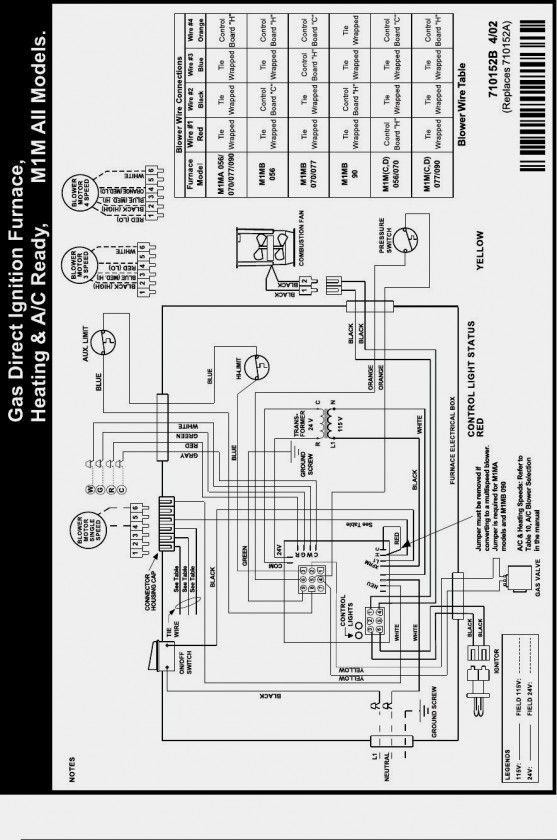 Thermostat Wiring Diagram For Electric Furnace from i.pinimg.com