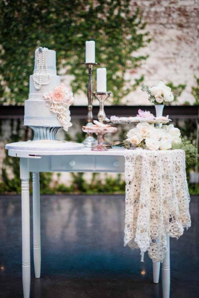 42 Wedding Dessert Table Ideas For Every Theme Wedding Forward Wedding Cake Table Decorations Vintage Wedding Cake Table Wedding Dessert Table