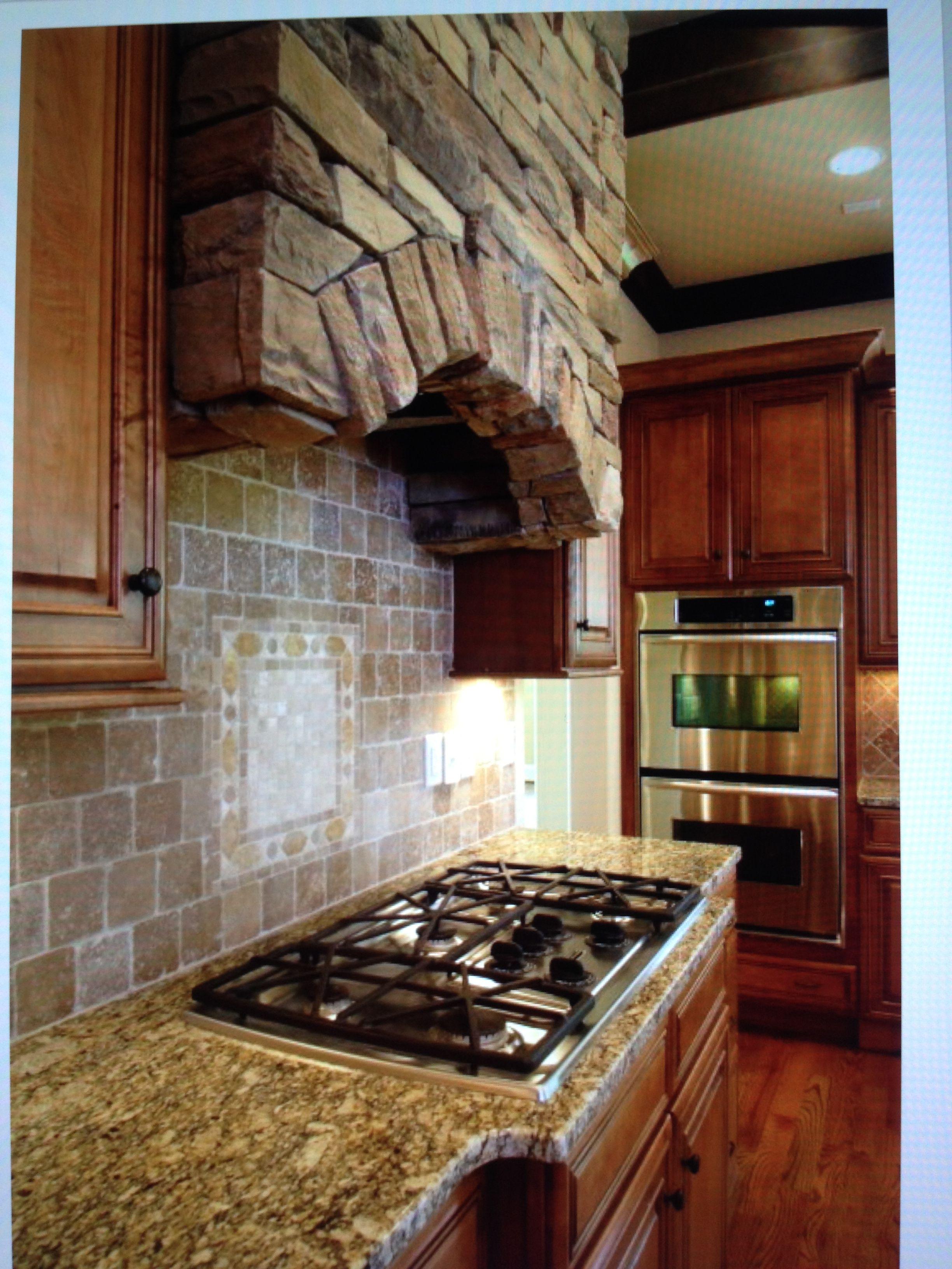 stone hood stone kitchen hood custom kitchen backsplash rustic kitchen on outdoor kitchen vent hood ideas id=18055