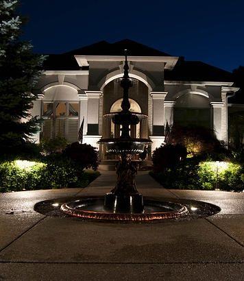 Pin de green outdoor lighting en architectural landscape lighting ideas de iluminacin iluminacin exterior iluminacin del paisaje indiana paraso interior aloadofball Image collections