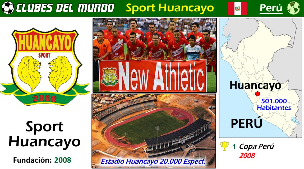 El Sport Huancayo es un club peruano de reciente fundación