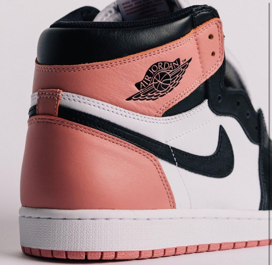 2c12114d5efd18 More Images Of The Upcoming Air Jordan 1 Retro High OG NRG Rust Pink