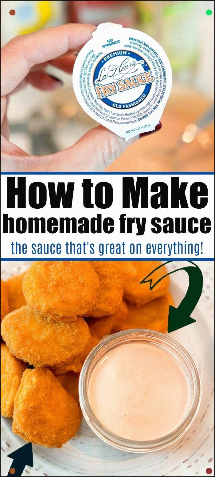 How To Make Fry Sauce With Just 4 Ingredients Make It A Bit Spicy If You Want Or Leave It Mild Like You Get At The Restaurant. Best Cold Dip Ever #Frysauce #Sauce #Dippingsauce #Dip #Mayonnaise #Ketchup