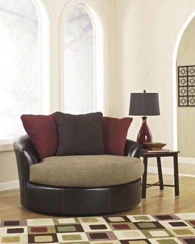 Astonishing Sanya Mocha Oversized Swivel Accent Chair Amazing Quotes Creativecarmelina Interior Chair Design Creativecarmelinacom