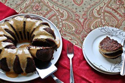 cake with sourdough starter.
