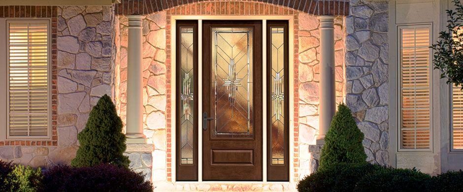 Entry Doors Classic Craft Oak Therma Tru House Pinterest