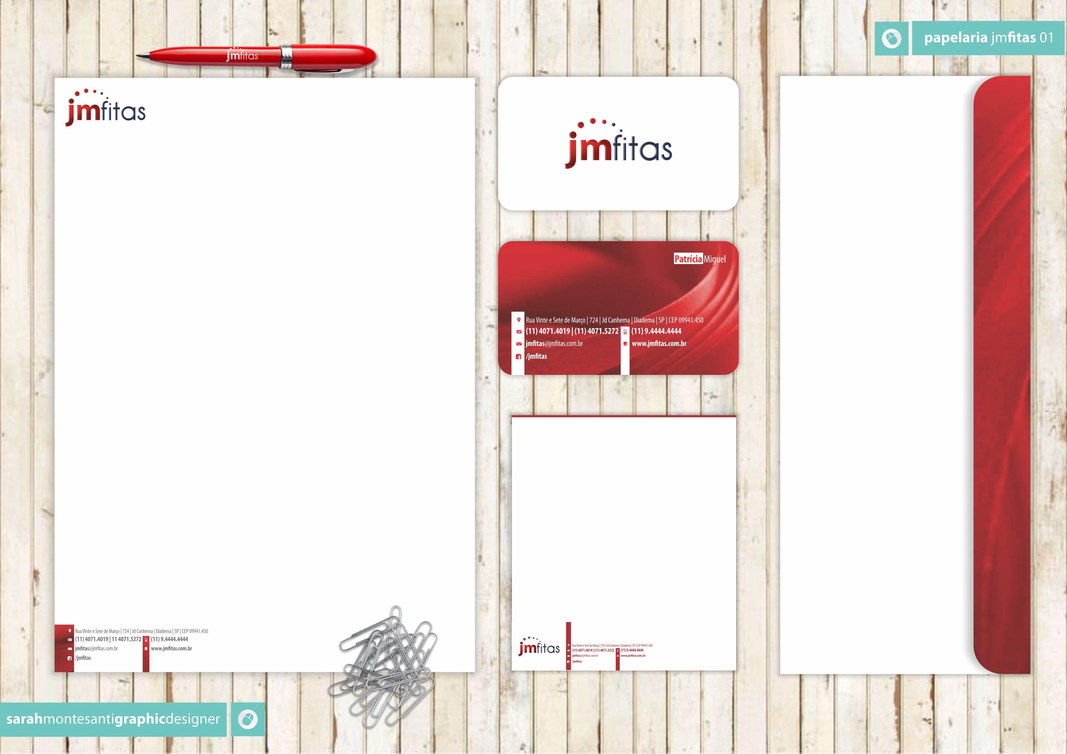 Papelaria Completa Cliente: JM Fitas