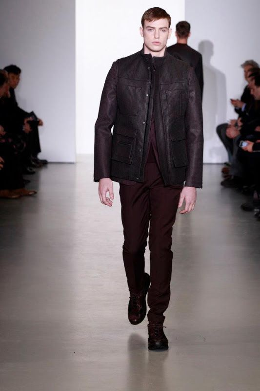 Fall 2013 Men's Calvin Klein Collection Runway Looks