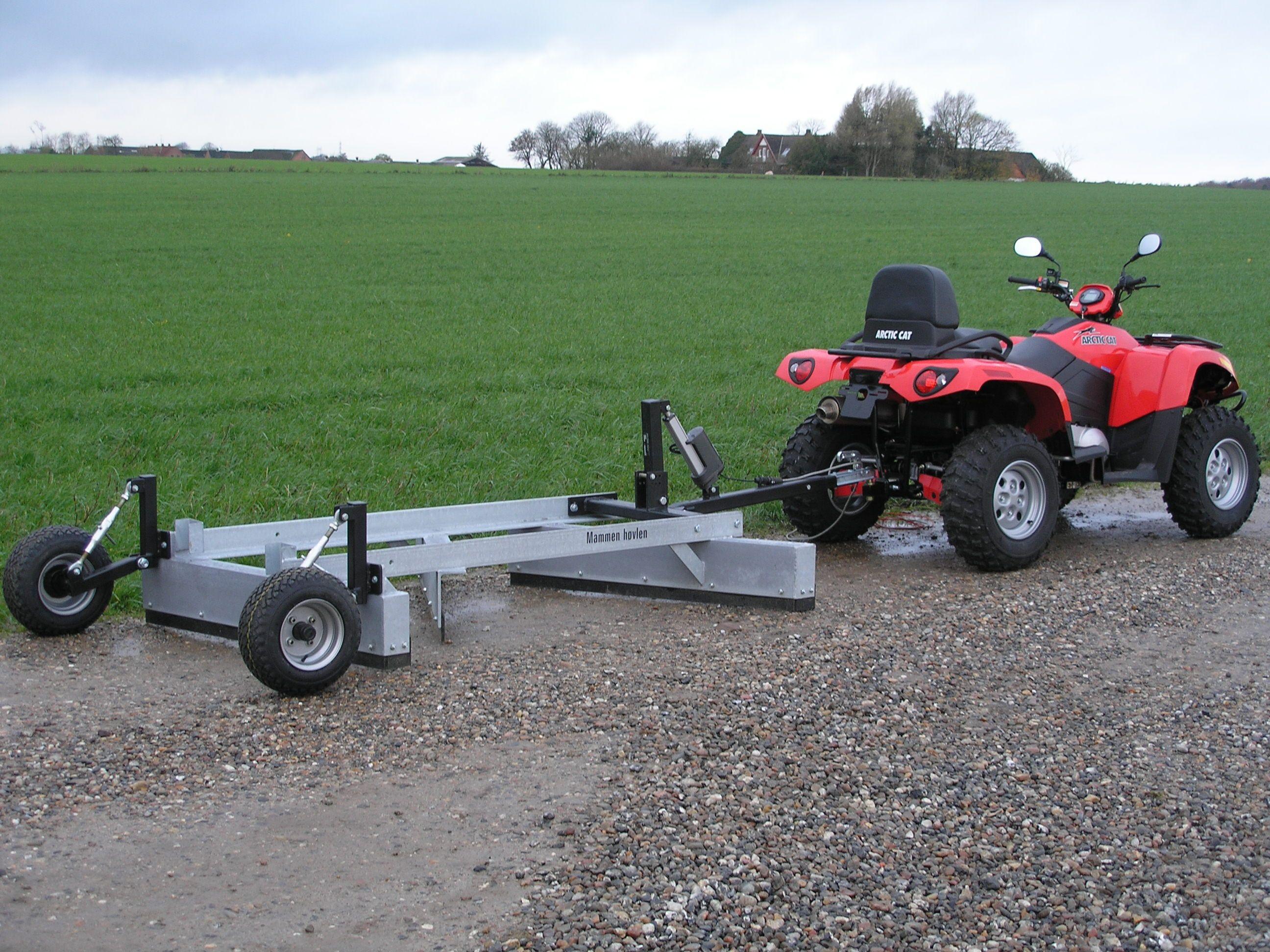 ATV Road Grader   Salg af nye MammenHøvle   handyman   Atv