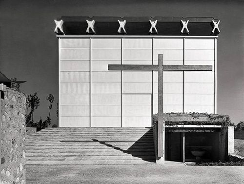 Angelo Mangiarotti Chiesa Mater Misericordiae Religiose