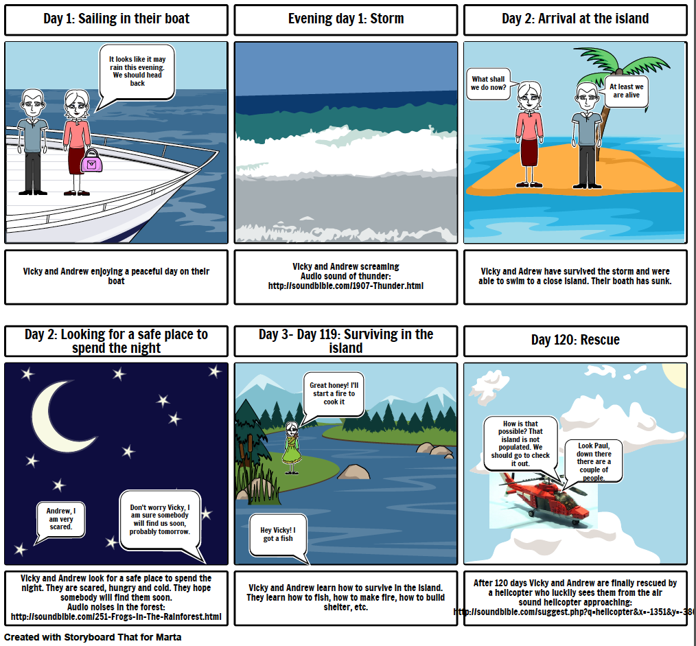 Movie Trailer Storyboard The Island ItS An Animated