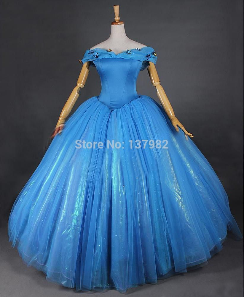 cinderella 2015 blue dress for sale - Google Search | fantasy that ...