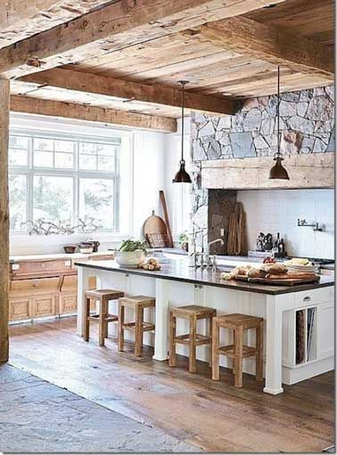 deco cuisine rustique stunning deco cuisine campagnarde collection avec modele cuisine rustique. Black Bedroom Furniture Sets. Home Design Ideas
