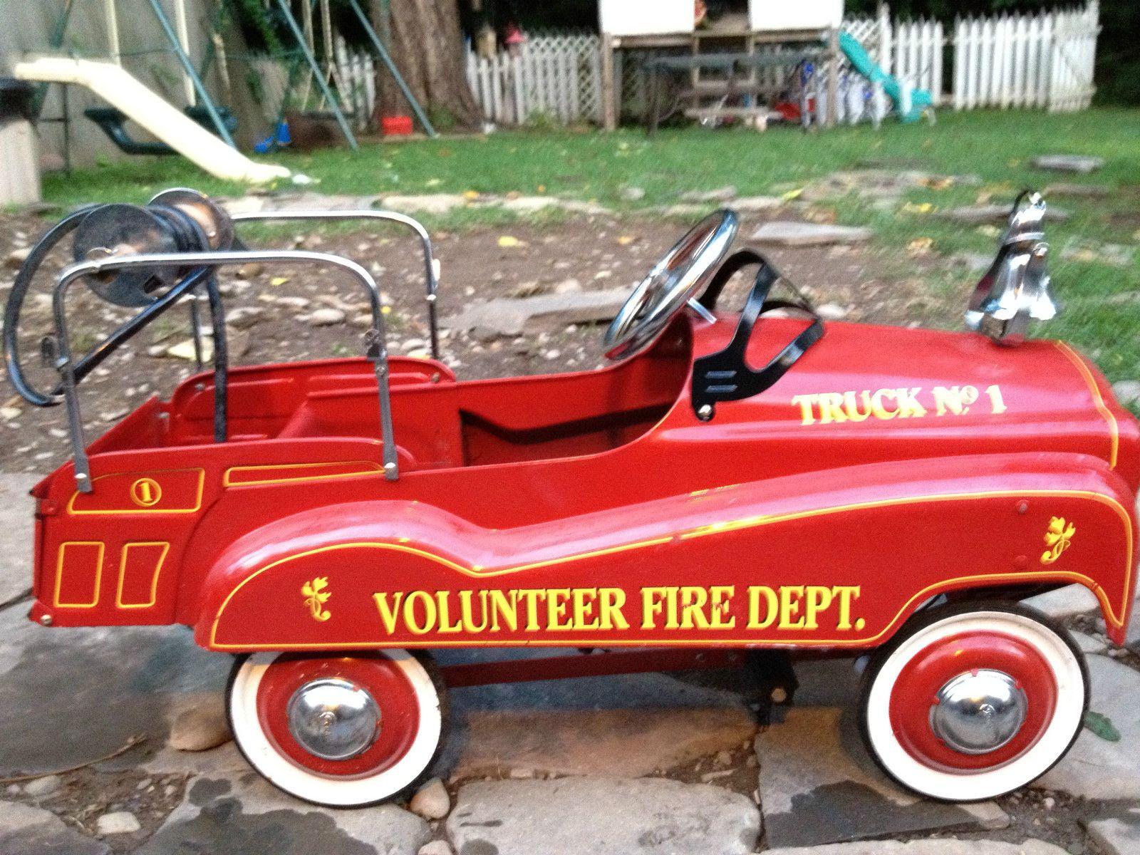 Gearbox Vintage FireTruck Pedal Car | eBay | ??YesterYear ...