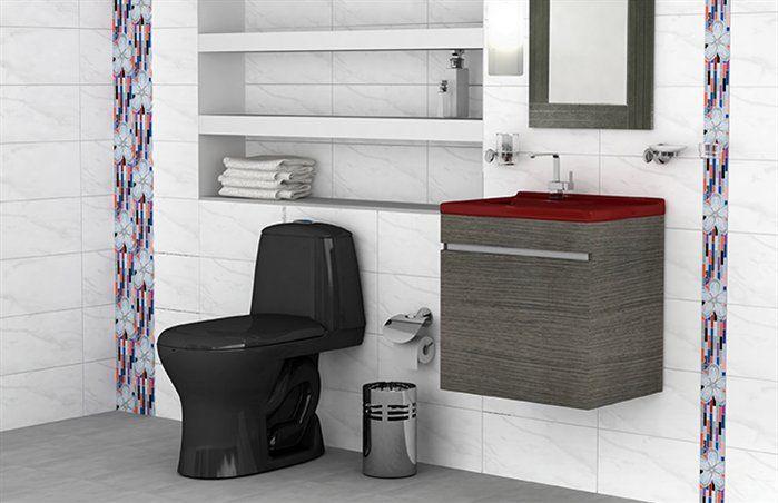 Pisos y paredes cl sicos para ba os bathroom design for Pisos y paredes para banos pequenos