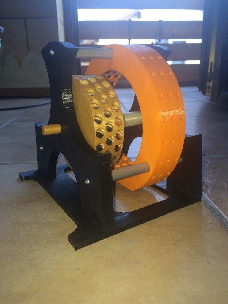 Magnetmotor by MrCadillacsts - Thingiverse #alternativeenergy