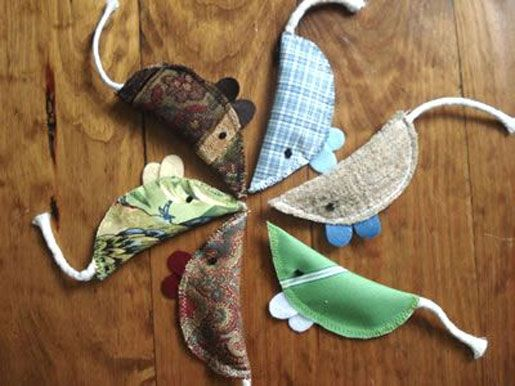 Homemade Cat Toys With Catnip Inside No Pattern Just