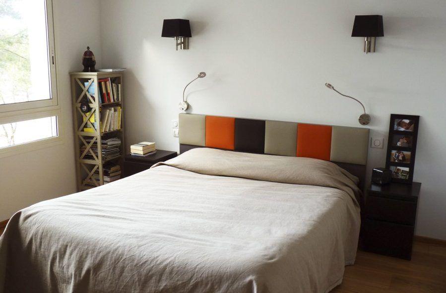 cabecero de cama moderno de colores