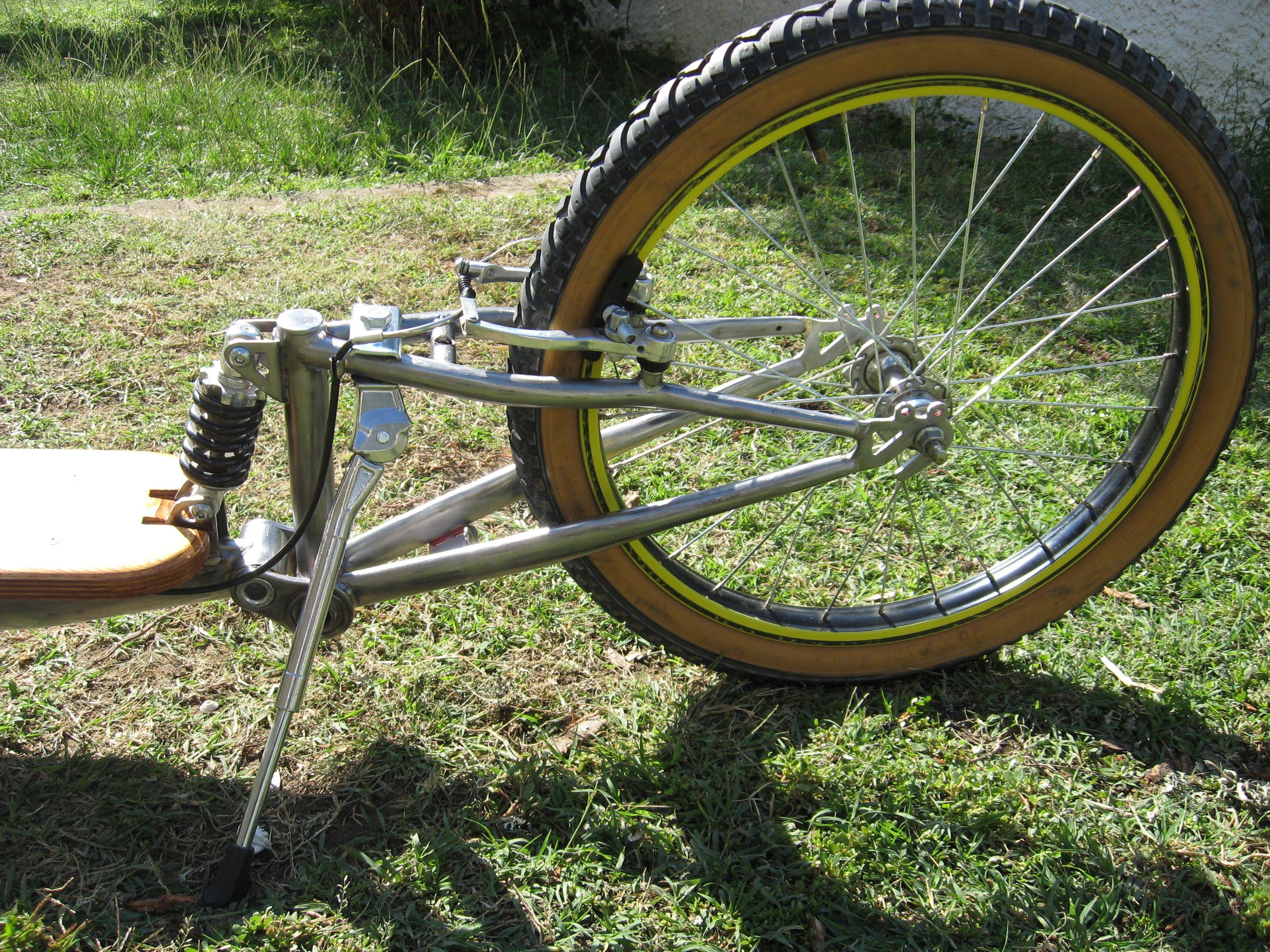 Footbike Suspension