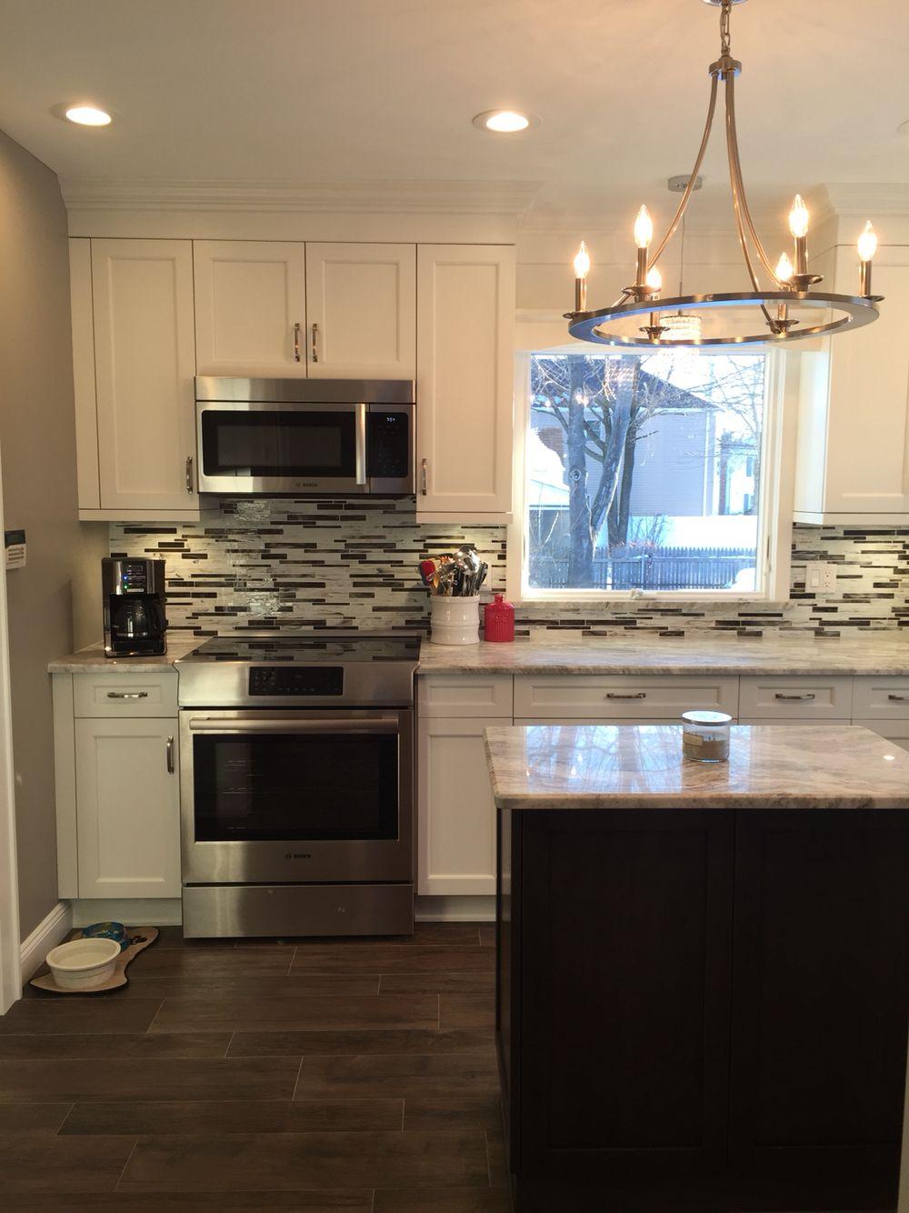 Kitchen Craft Lexington Alabaster Cabinets | Kitchen ...