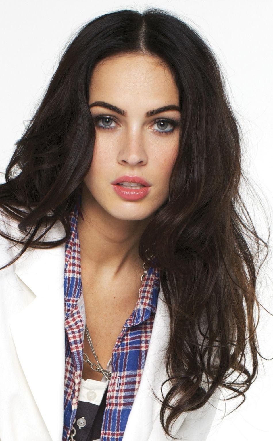 Hot, dark hair, popular, Megan Fox, 950x1534 wallpaper