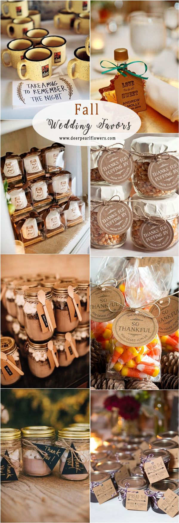 Rustic Fall Wedding Ideas Fall Wedding Favors Rustic Fall Wedding Favors Wedding Favors Fall Rustic Wedding Favors