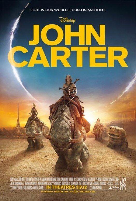 Disney S John Carter Sequel Movie John Carter Of Mars Truth