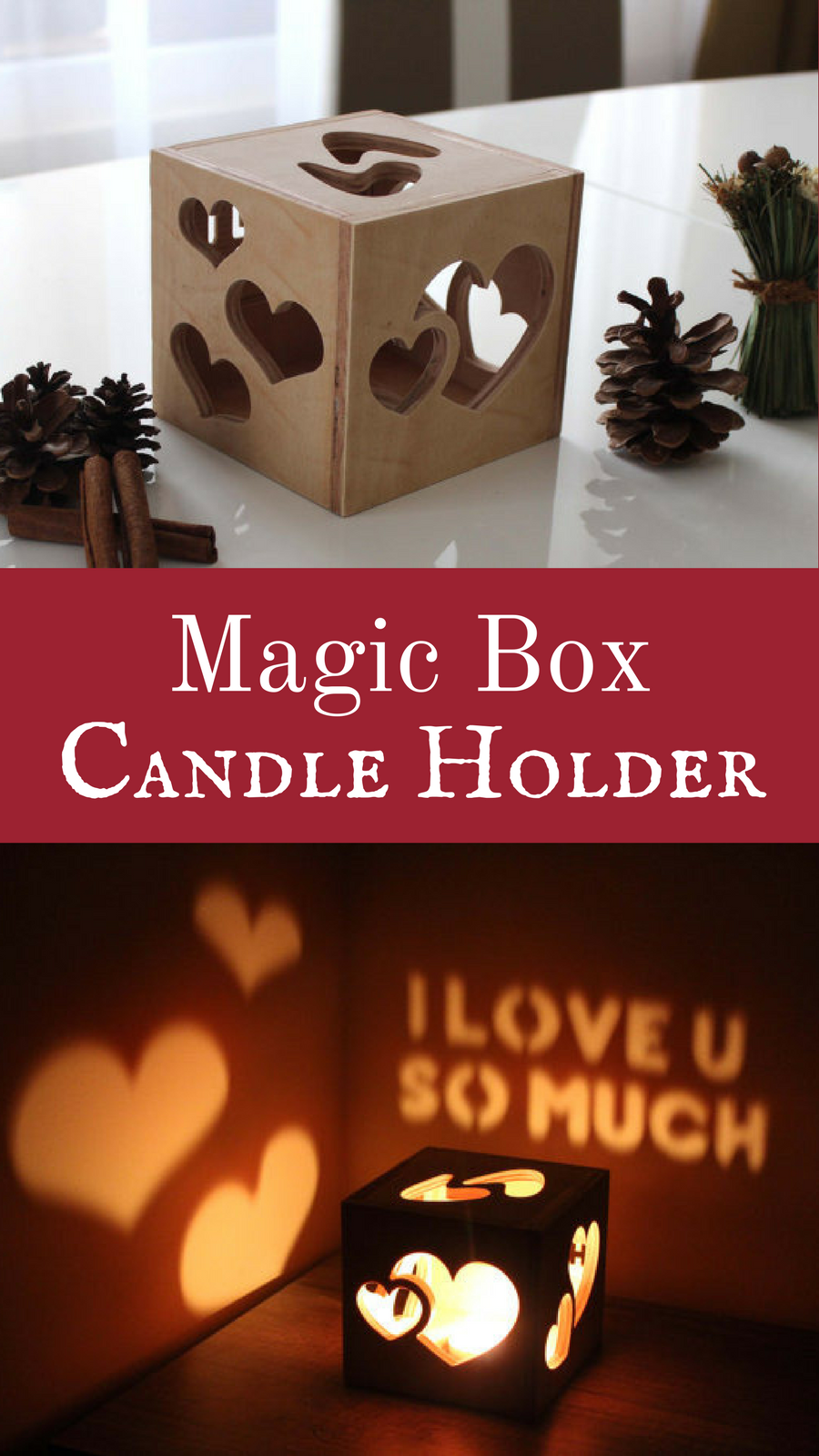Pretty Cool Wood Box Candle Holder Love The Details And It Looks Chocolate Fuse Great Night