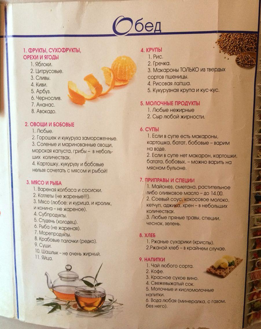 Похудение минус 60 и рецепты