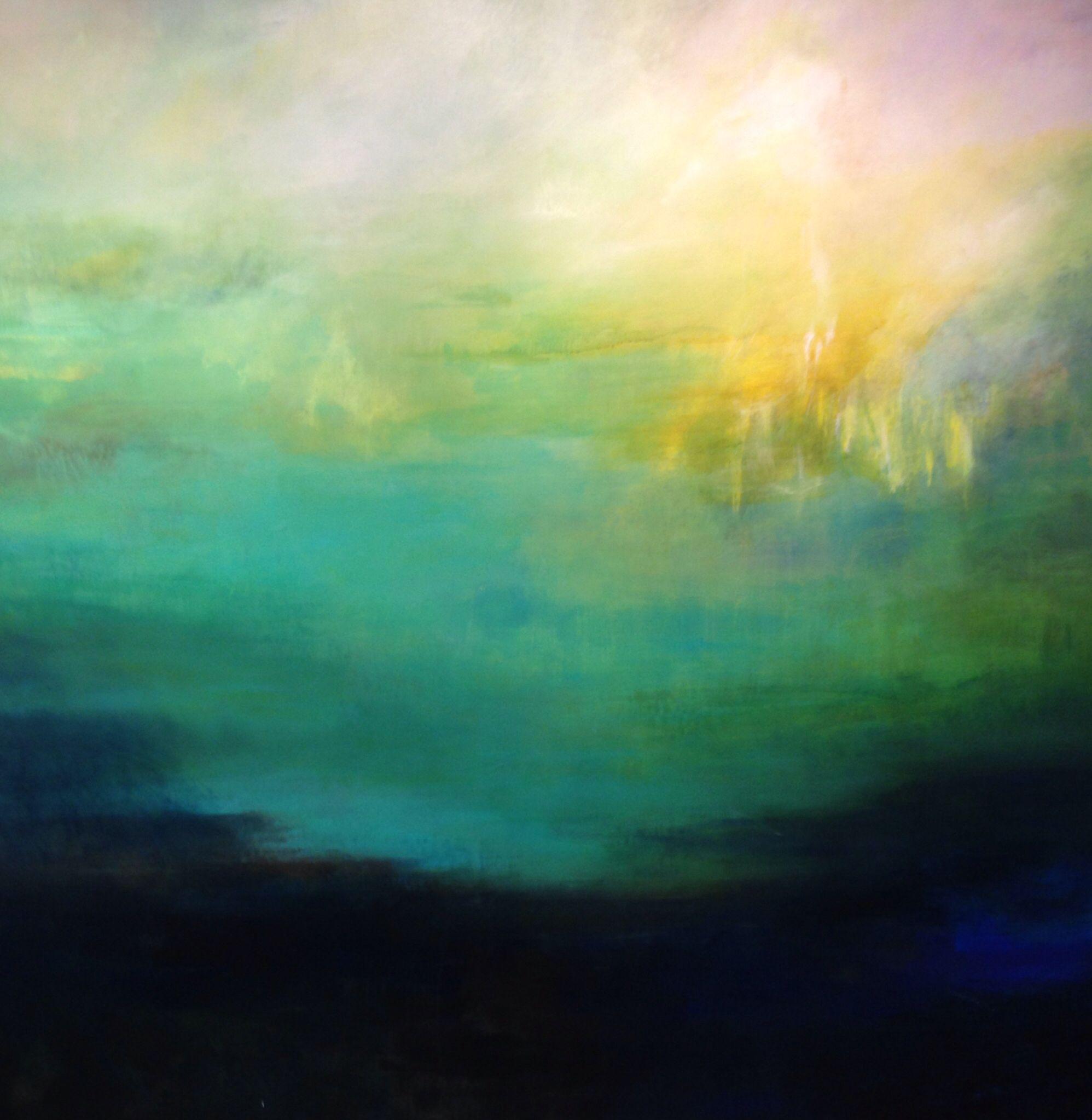 Pia Brix-Thomsen. No title. 150 x 150 cm. Acrylic on Canvas . 2014.
