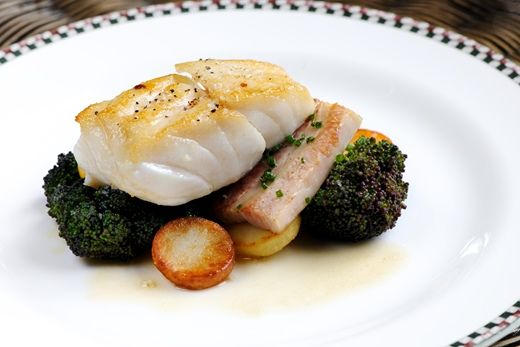 Sous Vide Cod With Coco Beans And Tomato Confit Recipe