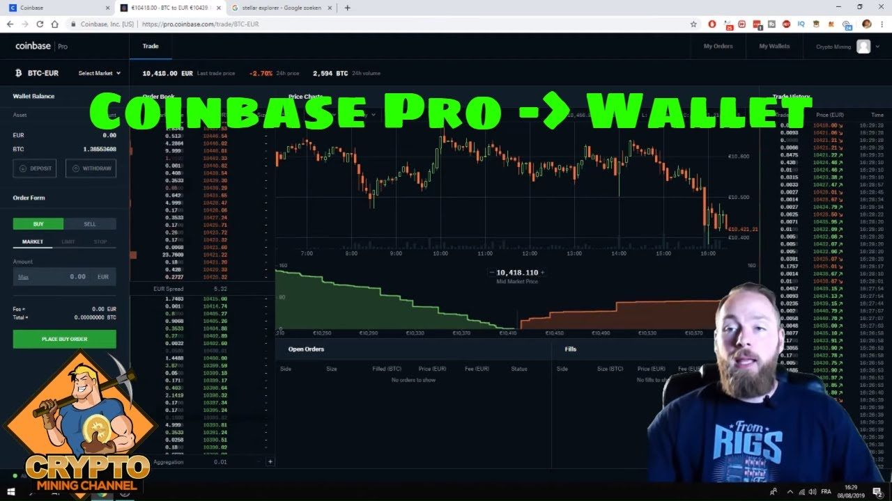 How To Move Money From Coinbase To Coinbase Pro