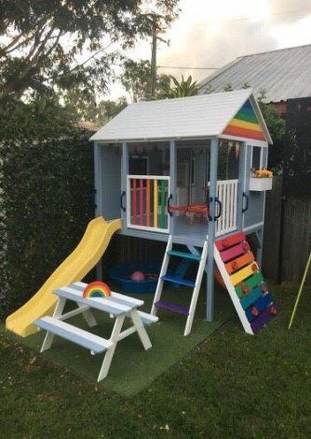 Maison Pour Enfant Exterieur 40+ astonishing backyard playground design ideas to try asap