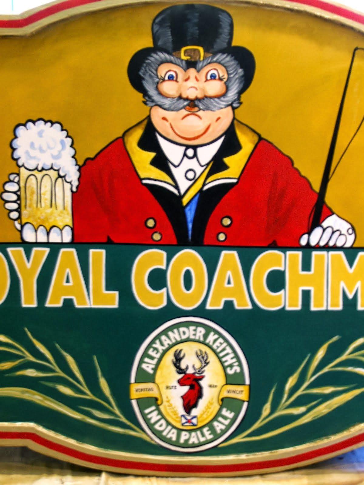 The Royal Coachman Sign ~ Waterdown Ontario