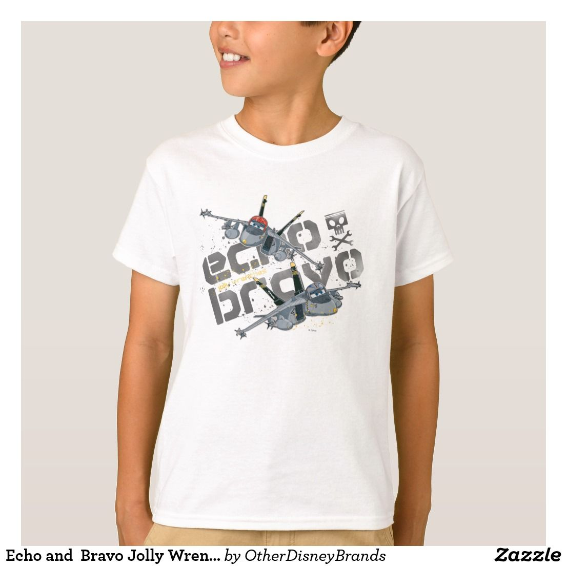 Echo and Bravo Jolly Wrenches TShirt (With