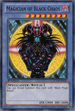Magician Of Black Chaos The Magicians Yugioh Yugioh Cards