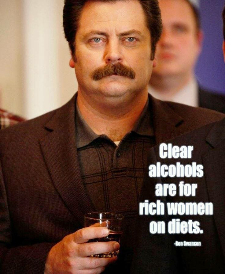 Pin by Chauneuf on Drinking is Fun | Ron swanson quotes ...  Ron Swanson Quotes Salad