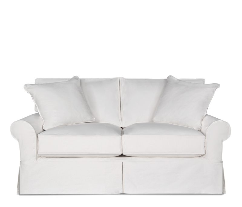 Hadley Slipcover Loveseat Casual Style And Exceptional